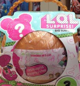 НОВИНКА! Большие шары сюрпризы LoL