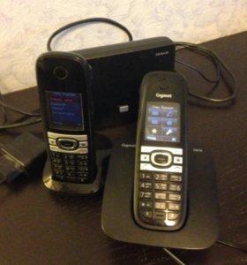 Радиотелефон Gigaset C610A IP c доп. трубкой