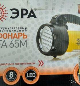 Фонарь светодиодный аккумуляторный Эра FA65M