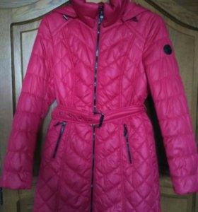Пальто демисезонное, синтепон, новое