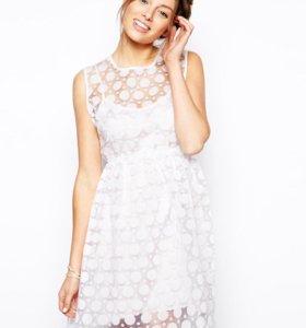 Платье из органзы Little White Lies