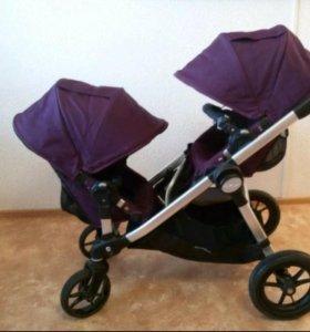 Baby jogger sity select double коляска для погодок