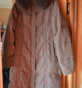 Новая, зимняя женская куртка, размер 52-54 рус