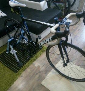 Giant tcr шоссейный велосипед