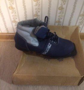 Лыжные ботинки размер 41