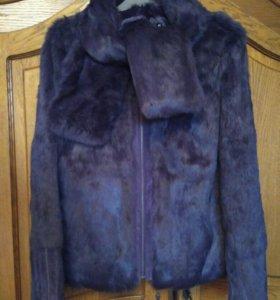 Куртка меховая ( кролик)новая