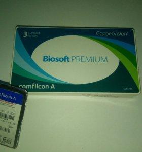 2 пары линз BIOSOFT PREMIUM