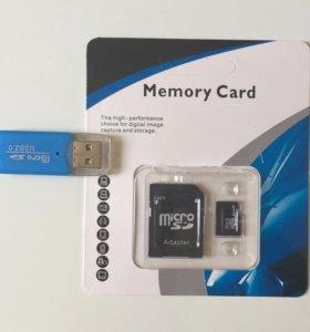 Новые Micro SD 16Gb SmartBuy