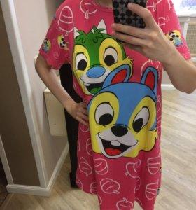 Чип и Дейл новое домашнее платье