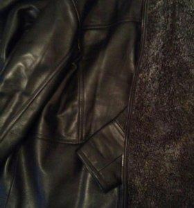 Куртка мужская зимняя(нат.кожа и мех)
