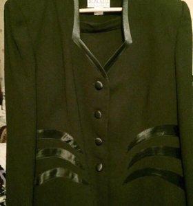 Шикарный пиджак 52-54. Новый