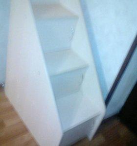 Лестница к чердак-кровати новая