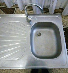 Раковина для кухни мо смесителем