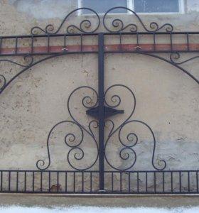 ворота въездные