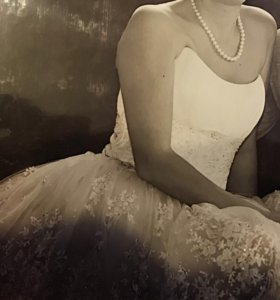 Свадебное платье+ накидка