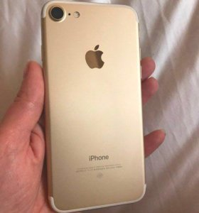 Новый iPhone 7 gold 128gb