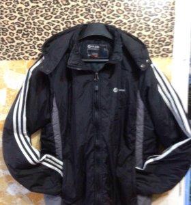 Куртка спортивная утеплённая
