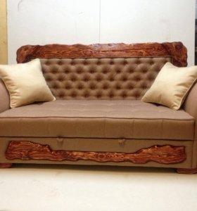 Мебель с элементами старения древесины