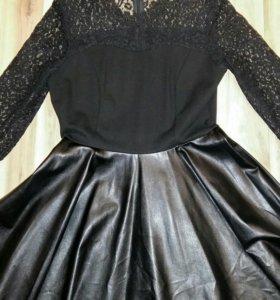 Платье (кожа)