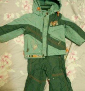 Куртка +штаны на весну р.80