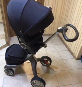 Детская коляска Stokke максимальной комплектации