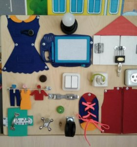 Бизиборды и бизикубики для детей