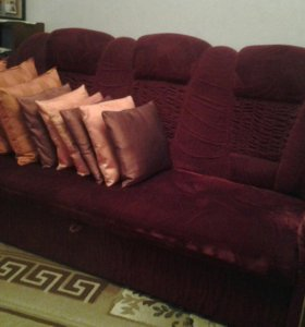 Диван с 2мя кресло кровати