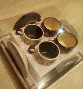 Набор кофейный новый