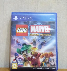 LEGO MARVEL SUPER HEROES ПС4