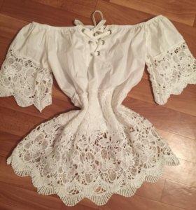 Новая!Кофта-блуза