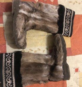Унты оленьи женские 36-38р