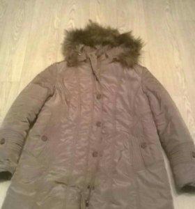 Пальто//куртка женская зимняя р.54-56