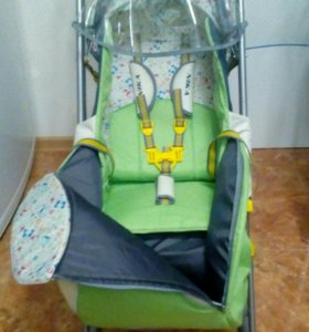 Санки-коляска Ника 3