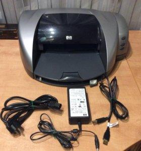 Принтер HP DeskJet 5550, цветной, струйный