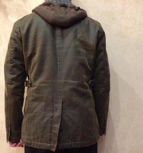 Куртка-пиджак мужская утеплённая 46-48