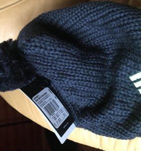 Вязанная шапка, Adidas
