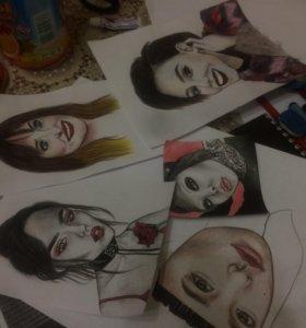 Рисую на заказ :)