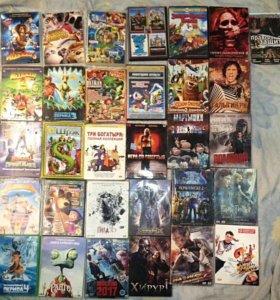DVD диски кино мультфильмы