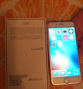 Aphone 6s rose gold 64g