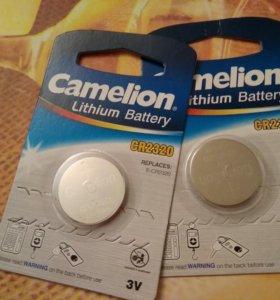 Две батареи camelion lithium
