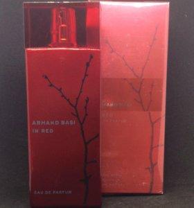 Парфюмированная вода Armand Basi In red 100 ml