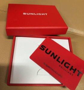 Подарочный сертификат Sunlight номиналом 10000 р.
