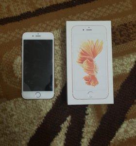 Iphone 6s 16gb rose gold 16gb