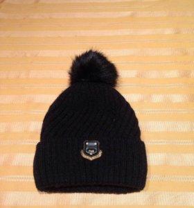 Новая зимняя шапка на мальчика