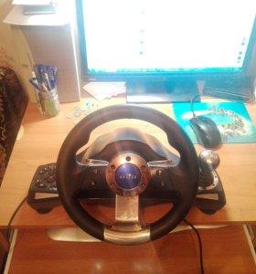 Игровой руль Oklick W3