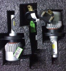 Светодиодные лампы цоколь H4