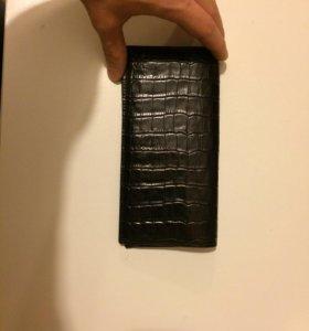 Бумажник Fabi кожа натуральная