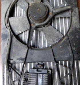 Опель вектра 1 радиатор и катушка зажигания