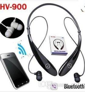 Наушники bluetooth HV900 к телефон планшет ноутбук