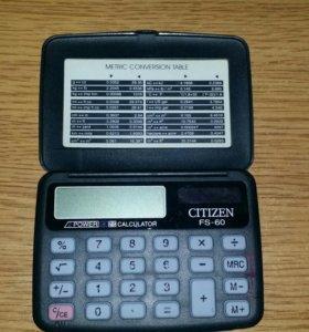 Калькулятор (солнечная батарейка)